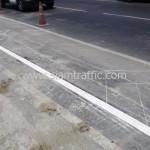 รับตีเส้นจราจรและทาสีขอบทาง ตีเส้นสะพานไทย เบลเยี่ยม