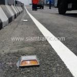 สีตีเส้นจราจรชนิดสีเทอร์โมพลาสติก ตีเส้นถนนสะพานไทย เบลเยี่ยม