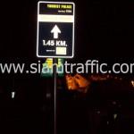ป้ายบอกทางตำรวจท่องเที่ยว 1.45 KM.