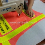 เสื้อสะท้อนแสงสีส้มกรมทางหลวง กลุ่มอำนวยการจราจร และจัดเก็บค่าธรรมเนียมผ่านทาง