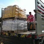 สีเทอร์โมพลาสติก สำหรับตีเส้นถนน ส่งออกไปประเทศกัมพูชา
