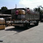 สีเทอร์โมพลาสติก ตีเส้นถนน ส่งออกไปประเทศกัมพูชา