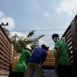 การขึ้นสินค้าเพื่อส่งออกไปประเทศกัมพูชา