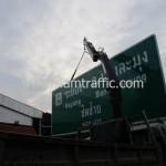 ป้ายบอกทางแบบแขวนสูง Overhead Sign