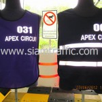 เสื้อจราจรสะท้อนแสง Apex Circuit