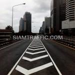 รับเหมาตีเส้นถนนโครงการปรับปรุงสะพานข้ามแยก ถนนพระรามที่ 4-สีม (ไทย-ญี่ปุ่น)