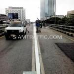 รับเหมาตีเส้นโครงการปรับปรุงสะพานข้ามแยก ถนนพระรามที่ 4-สีม (ไทย-ญี่ปุ่น)