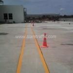 ตีเส้นที่ DHL บางนา กม.23