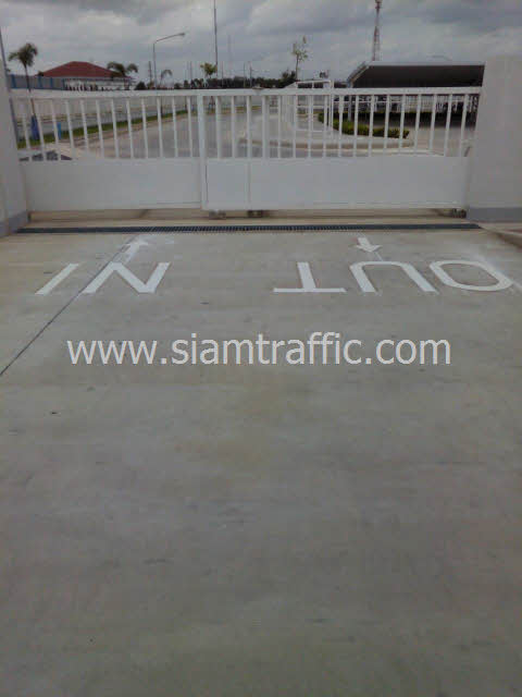 Road marking Thai Dec Factory