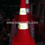 กรวยพลาสติกสะท้อนแสง Thai Oil