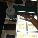 """สติ๊กเกอร์สะท้อนแสง """"NBMT D01-D80"""" 10 x 10 เซนติเมตร"""
