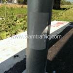guardrail ติดตั้งเลียบคลองระพีพัฒน์