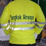 เสื้อกันฝนอย่างดี Bangkok Airways