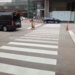ตีเส้นจราจร The Grand Rama 9