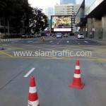 สีตีเส้นจราจร The Grand Rama 9