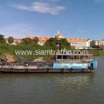 แพขนานยนต์ข้ามแม่น้ำ ประเทศกัมพูชา