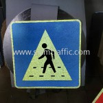 Pedestrian Crossing Area G4-03 Cambodia Road Sign