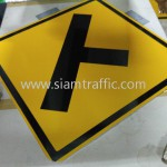 Warning Sign W1-11 Cambodia Standard