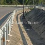 highway guard rail ทางหลวงหมายเลข 4 ตอนควบคุม 0603 ตอนหนองหมู - ห้วยยาง