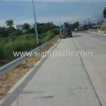 การ์ดเลนถนน จำนวน 416 แผ่น ติดตั้งที่จังหวัดชลบุรี