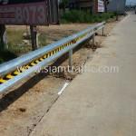 highway guard rail จำนวน 416 แผ่น ติดตั้งที่จังหวัดชลบุรี