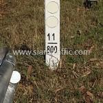 highway guard rail ทางหลวงหมายเลข 120 ตอน พะเยา – ปากบอก