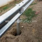 guardrail กันอุบัติเหตุ ทางหลวงพิเศษหมายเลข 9 ตอน คลองพระยาสุเรนทร์ - พระประแดง