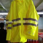 เสื้อกันฝนอย่างดีราคา สกรีนข้อความ จราจรทางพิเศษ 1