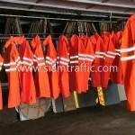 เสื้อกันฝนราคาถูก สกรีนข้อความ สภ.เมืองน่าน