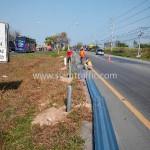 highway guard railทางหลวงหมายเลข 344 ตอน หนองรี - หนองปรือ