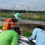 gaurd rail ทางหลวงพิเศษหมายเลข 7 ตอนหนองขาม - ชลบุรี