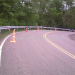 metal guard rail ศูนย์สร้างทางหล่มสัก ปริมาณรวม 7,500 เมตร