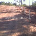 steel guard rail ศูนย์สร้างทางหล่มสัก ปริมาณรวม 7,500 เมตร