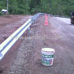 metal beam guard rail ศูนย์สร้างทางหล่มสัก ปริมาณรวม 7,500 เมตร
