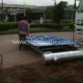 งานโครงสร้างรับแผ่นป้าย Overhang แขวงทางหลวงนครพนม