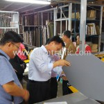 ตรวจสอบคุณภาพสินค้าที่โรงงานในประเทศไทย