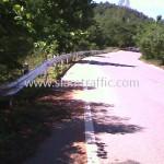 ราวกั้นถนน ทางหลวงหมายเลข 3337 ตอนควบคุม 0100 ตอนห้วยชินสีห์ - หินสี