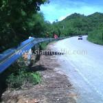 gaurd rails ทางหลวงหมายเลข 3337 ตอนควบคุม 0100 ตอนห้วยชินสีห์ - หินสี