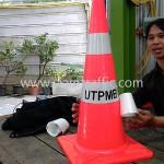 กรวยถนนข้อความ UTPMB