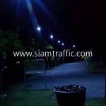โคมไฟถนนพลังงานแสงอาทิตย์ราคาโรงงาน วัดสุทธาวาส วิปัสสนา อำเภอลาดบัวหลวง