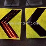 ป้ายเชฟรอน LED solar cell