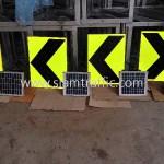 ป้ายเชฟร่อน solar cell ส่งออกไปประเทศกัมพูชา