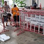 แผงกั้นจราจร ไม่มีล้อ การไฟฟ้าฝ่ายผลิตแห่งประเทศไทย