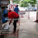 แผงเหล็กกั้น การไฟฟ้าฝ่ายผลิตแห่งประเทศไทย หรปม-ฟ. C001----C100