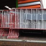 แผงกั้นที่จอดรถ การไฟฟ้าฝ่ายผลิตแห่งประเทศไทย หรปม-ฟ. C001----C100