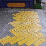 เส้นทึบสีเหลือง วัดแหลมสุวรรณาราม