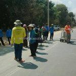 การสาธิตวิธีการตีเส้น ที่ EIN DU-ZAR TA PYIN ประเทศพม่า လက်တွေ့လမ်းမျဥ်းဆွဲပြခြင်း နေရာ EIN DU-ZAR TA PYIN မြန်မာနိုင်ငံ