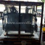 เตาต้มสีตีเส้นจราจรส่งออกไปประเทศพม่า လမ်းမျဥ်းဆွဲဆေးရောင် ပျုတ်မီးဖို ထိုင်းနိုင်ငံထုတ်ပစ္စည်း