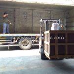 เครื่องตีเส้นถนนส่งออกไปประเทศพม่า လမ်းမျဥ်းဆွဲတဲ့စက် ထိုင်းနိုင်ငံထုတ်ပစ္စည်း