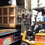 เครื่องตีเส้นสีเทอร์โมพลาสติกส่งออกไปประเทศพม่า လမ်းမျဥ်းဆွဲတဲ့စက်အရောင်thermoplastic ထိုင်းနိုင်ငံထုတ်ပစ္စည်း